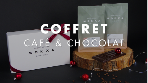 Coffret Noël Café de spécilaité et chocolat Sève