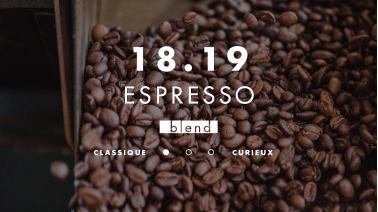 Mélange de café pour espresso, blend 100% brésil, assemblage
