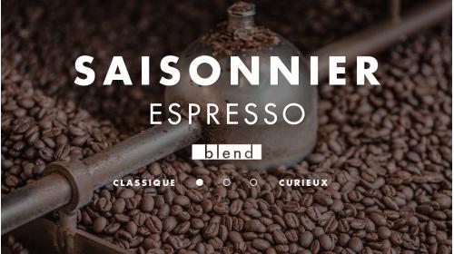 Mélange de café pour espresso