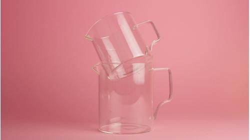 Carafe en verre Kinto